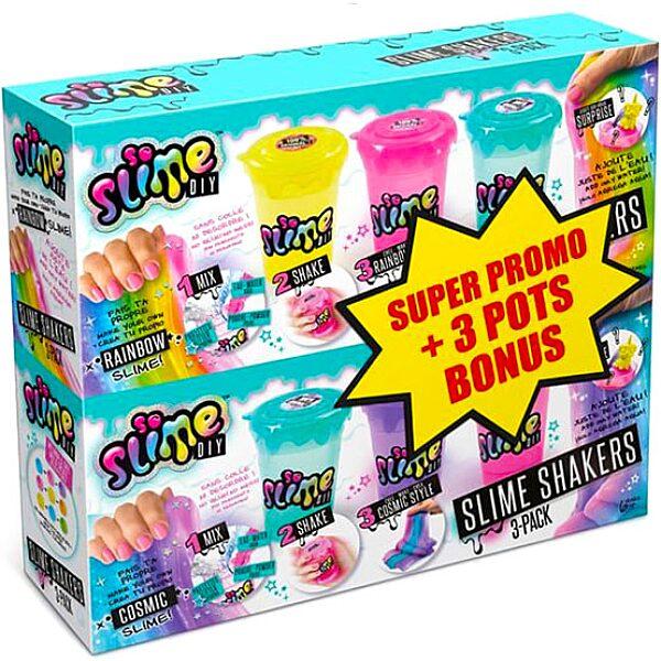 Canal Toys: 3 darabos slime shaker csomag bónusszal - 1. Kép