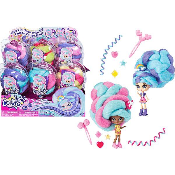 Candylocks: jégkrém vattacukor baba - többféle - 4. Kép