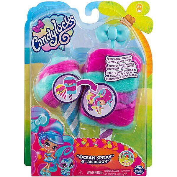 Candylocks: vattacukor baba és állatka - többféle - 2. Kép