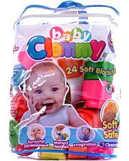 Clemmy Baby - 24 db-os építőkocka készlet - 1. Kép