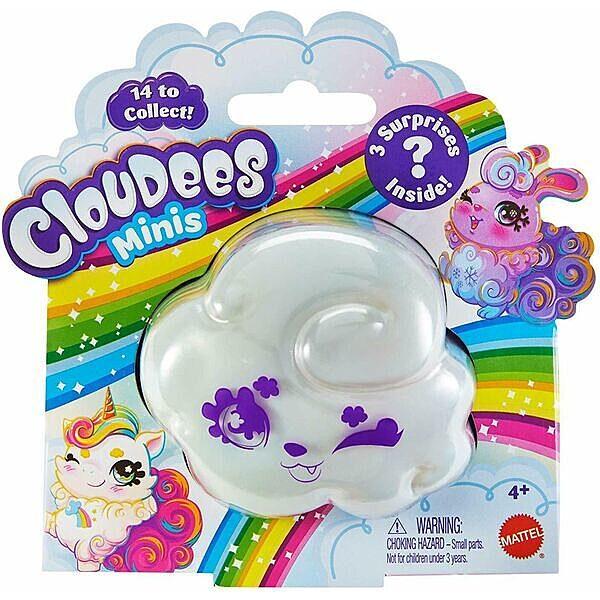Cloudees mini gyűjthető meglepetés figurák - többféle - 1. Kép