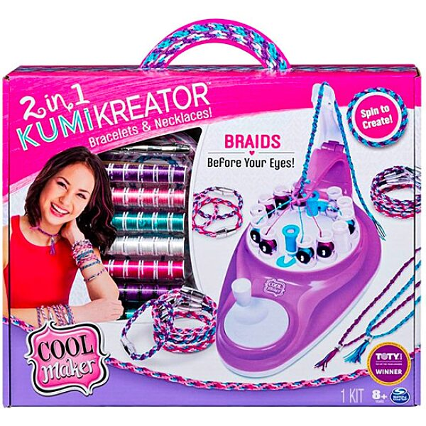 Cool Maker: Kumi kreator ÚJ 2 az 1-ben karkötő- és nyaklánckészítő - 3. Kép