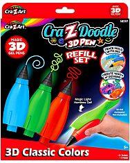 Cra-Z-Doodle: 3D toll utántöltő készlet - 1. Kép
