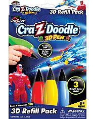 Cra-Z-Doodle: 3D toll utántöltő készlet - 4. Kép