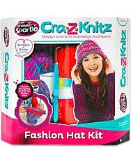 Cra-Z-Knitz Trendi Csajszi Sapi Design - 1. Kép