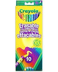 Crayola: 10 db radírvégű színes ceruza - 1. Kép