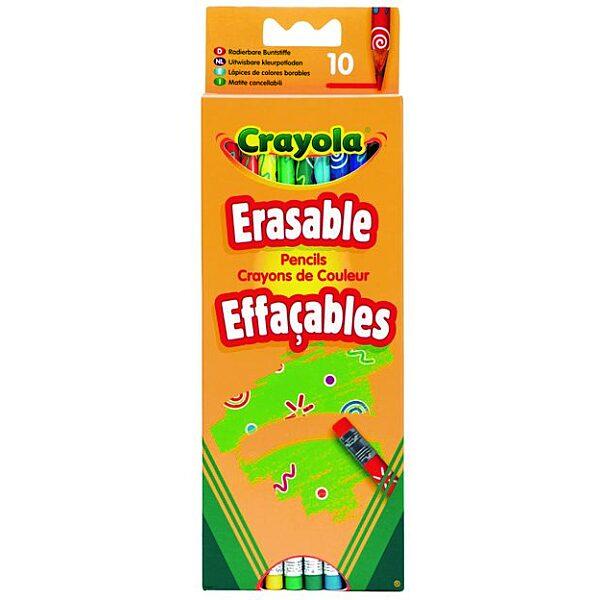 Crayola: 10 db radírvégű színes ceruza - 5. Kép