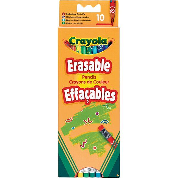 Crayola: 10 db radírvégű színes ceruza - 6. Kép