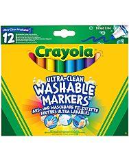 Crayola: 12 darabos vastag lemosható filctoll - 1. Kép
