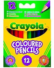 Crayola: 12 db félhosszú színes ceruza - 1. Kép