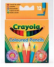 Crayola: 12 db félhosszú színes ceruza - 4. Kép
