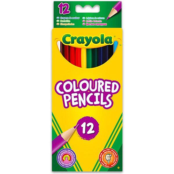 Crayola: 12 db hengeralakú színes ceruza - 1. Kép