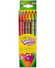 Crayola: 12 db radírvégű csavarható színes ceruza - 1. Kép