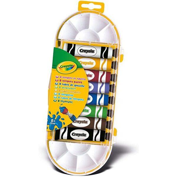 Crayola 8 darabos temperakészlet - 4. Kép
