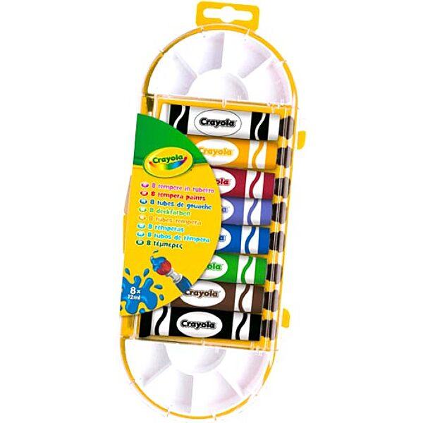 Crayola 8 darabos temperakészlet - 5. Kép