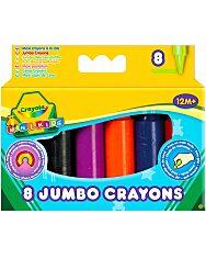 Crayola: 8 db színes tömzsi viaszkréta - 4. Kép
