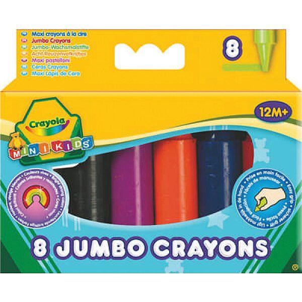 Crayola: 8 db színes tömzsi viaszkréta - 5. Kép