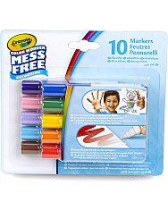 Crayola Color Wonder: maszatmentes filctoll utántöltő 10 darabos - 1. Kép