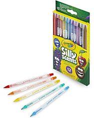 Crayola: Csavard és szagold színes ceruzák - 12db-os - 2. Kép