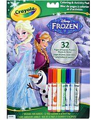 Crayola: Jégvarázs kifestő és foglalkoztató - 1. Kép