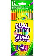Crayola: Kétvégű színes ceruza - 12 darabos - 1. Kép