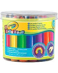 Crayola Mini Kids: 24 db tömzsi viaszkréta - 1. Kép