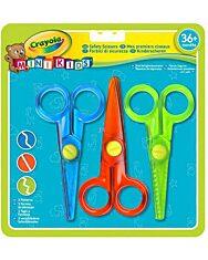 Crayola Mini Kids: 3 db-os műanyag olló készlet - 1. Kép