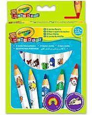 Crayola Mini Kids: 8 db vastag natúr színes ceruza - 1. Kép