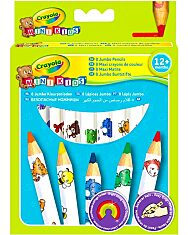 Crayola Mini Kids: 8 db vastag natúr színes ceruza - 4. Kép