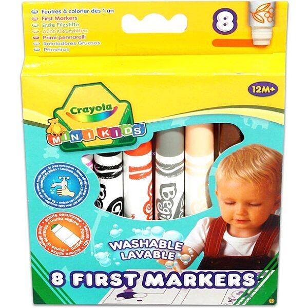 Crayola Mini Kids: Gyermek filctoll szett - 1. Kép