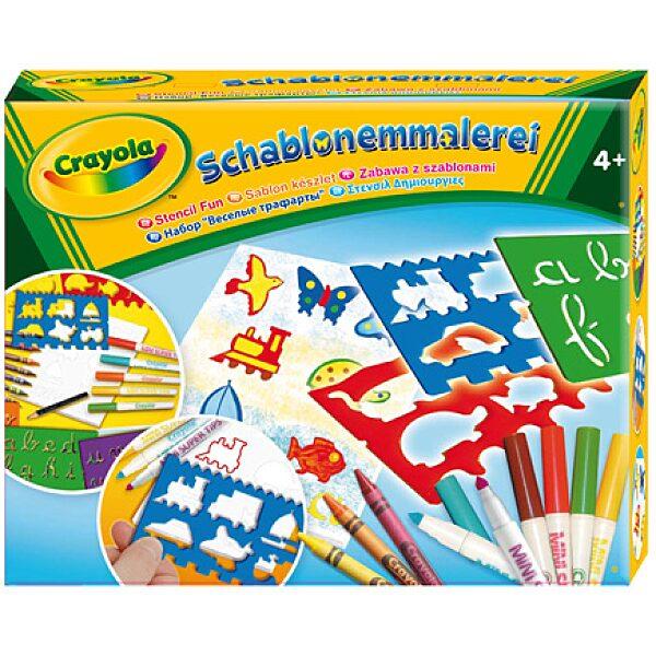 Crayola: Sablon készlet - 4. Kép