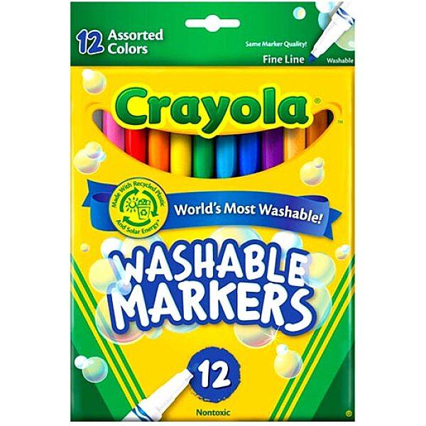 Crayola: Vastag hegyű lemosható filctoll - 6. Kép