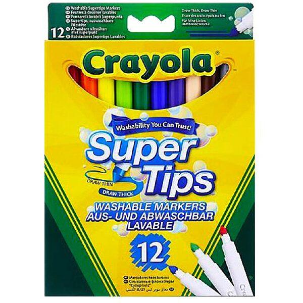 Crayola: Vastag hegyű lemosható filctoll - 1. Kép