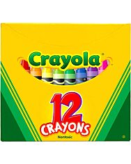 Crayola: Viaszkréta - 12 db - 4. Kép