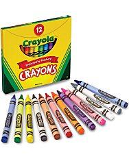 Crayola: Viaszkréta - 12 db - 8. Kép