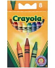 Crayola: Viaszkréta - 8 db - 1. Kép