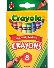 Crayola: Viaszkréta - 8 db - 4. Kép