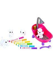 Crayola Washimals: kimosható állatkák - kád szett - 2. Kép