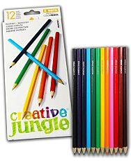 Creative Jungle 12 darabos színes ceruza készlet - 1. Kép