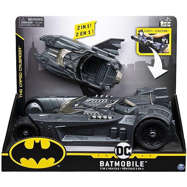DC Batman: Batmobile 2 az 1-ben átalakuló jármű - 1. Kép