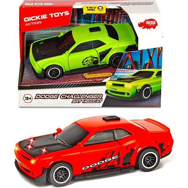 Dickie: Dodge Challenger SRT Hellcat kisautó - 15 cm