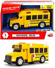 Dickie: iskolabusz - 15 cm - 1. Kép