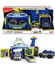 Dickie: Rendőrállomás létesítmény járművekkel - 1. Kép