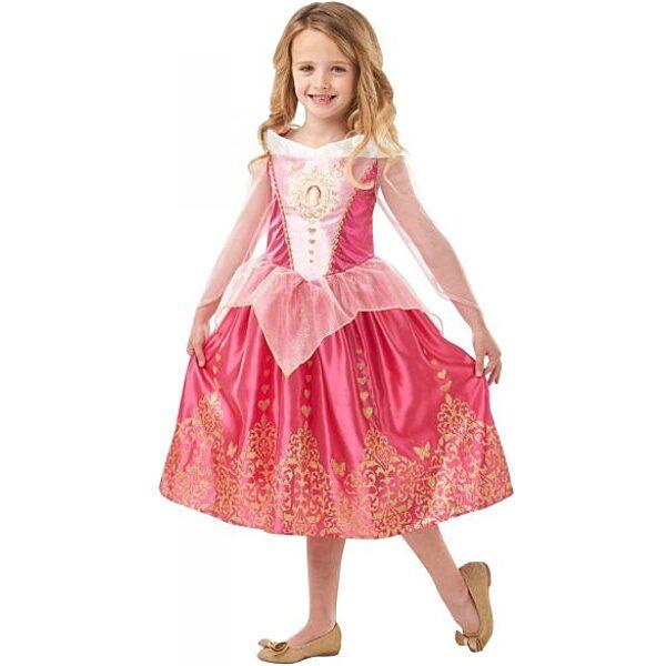 Disney hercegnők: Csipkerózsika jelmez 104 cm - 1. Kép