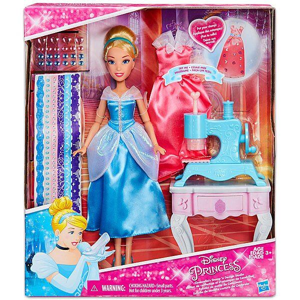 Disney hercegnők: Hamupipőke nyomda és design stúdiója - 1. Kép