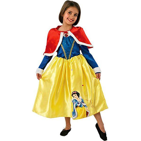 Disney hercegnők: Hófehérke téli jelmez - M méret - 1. Kép