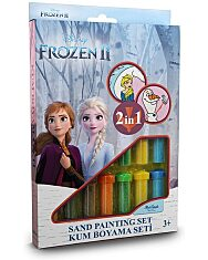 Disney Hercegnők: Jégvarázs 2  homokfestő készlet - 1. Kép