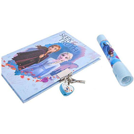 Disney hercegnők Jégvarázs 2: Titkos napló UV tollal - 2. Kép
