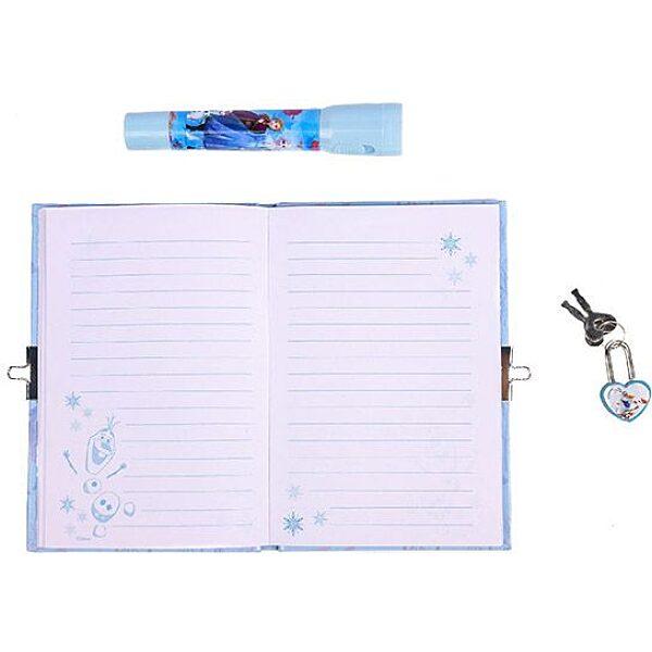 Disney hercegnők Jégvarázs 2: Titkos napló UV tollal - 3. Kép