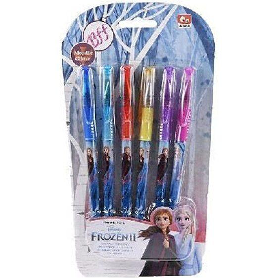Disney hercegnők Jégvarázs 2: Zselés toll készlet 6 darabos - 1. Kép